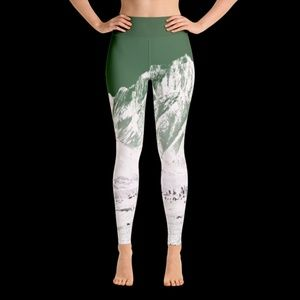 Because It's There Mount Morrison leggings